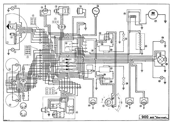 schaltplan ducati einzylinder    zweizylinder